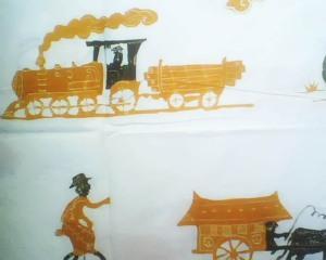 batik kompeni, kompeni transportasi
