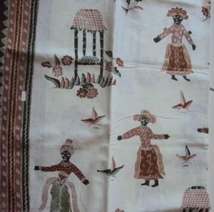 batik kompeni, kompeni penari